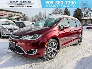 2018 Chrysler Pacifica CHARGING PAD, DVD, POWER SLIDING DOORS &