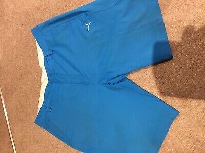Mens Puma Golf Shorts -Waist 36