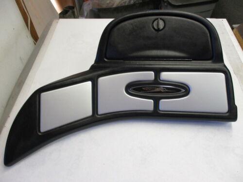 "Skeeter Boat Dash Panel w/ Glove Compartment Black Silver Gray 31"" x 15"""