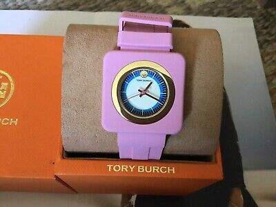 NWT Tory Burch The Izzie Watch Pink Jelly $199