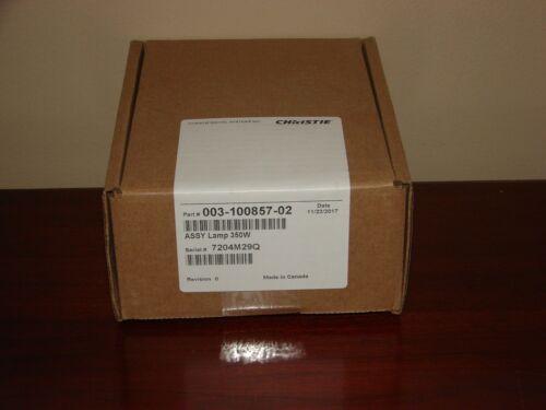 Genuine CHRISTIE 003-100857-02 Projector Lamp for DS+10K-M, HD10K, WU12K, WX10K