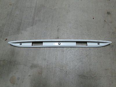 Mercedes Benz SLK230 White Trunk Plate Light Cover Panel 1707580438 R170