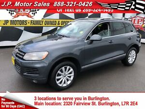 2012 Volkswagen Touareg Highline, Leather, Pan Sunroof, AWD, Die
