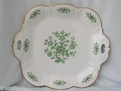 Schöne große Zierschale Servierplatte Tirschenreuth Porzellan