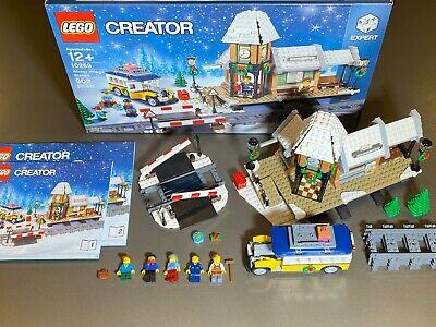 LEGO Expert Creator 10259 Winter Village Station- 100% Complete Train Christmas