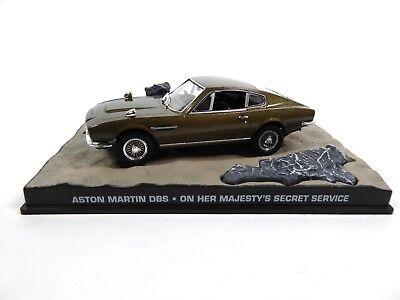 Aston Martin DBS James Bond 007 On Her Maj's Secret- 1:43 Diecast Model Car KY04