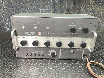 Leeds Northrup Model 7556 Guarded Potentiometer