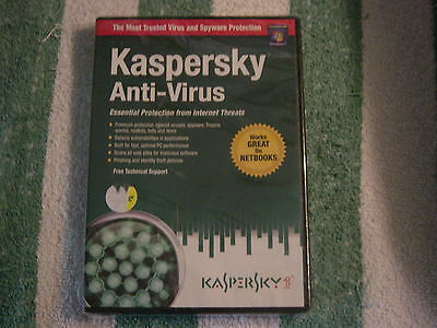 Kaspersky Anti Virus  Pc  2010  Essential Protection From Internet Threats  New