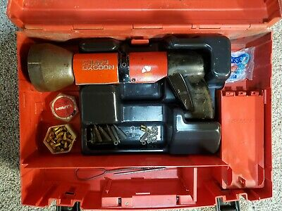 Hilti Dx 600 N Powder-actuated Nail Stud Gun Kit With Accessories Fastener