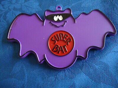 Hallmark Cookie Cutter Halloween Super Bat Painted Ornament