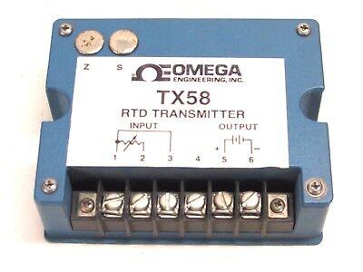 Omega Engineering Rtd Transmitter Tx58