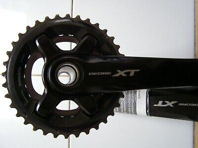 Shimano XT FC-M8000-B1 BOOST 32T Chainring Dyna Sys II MTB Bike Crankset//BB 175