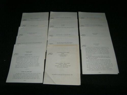 Original 1979 THE MUPPET MOVIE 17 Supplements 80 Pages From Press Kit