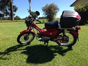 2007 Honda CT110 Postie Bike Dorrigo Bellingen Area Preview