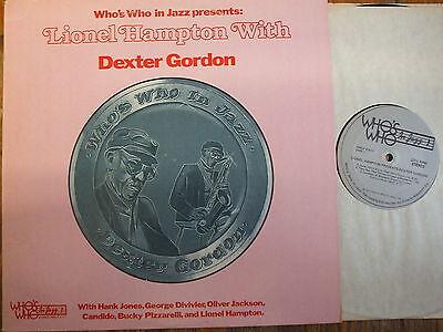 Wwlp 21011  Lionel Hampton With Dexter Gordon   1977 Lp
