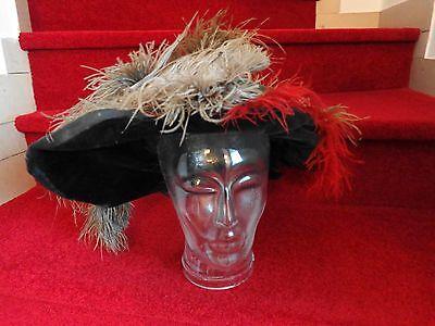 Mittelalter Barett, Jacke Samt, Mantel, 40/42,DIRINGER Theater Kostüm historisch
