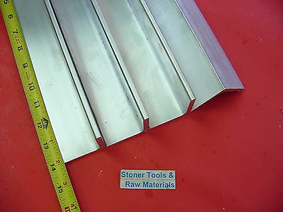 4 Pieces 2x 2x 14 Aluminum 6061 Angle Bar 14 Long T6 Extruded Mill Stock
