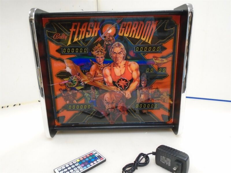 Bally Flash Gordon Pinball Head LED Display light box
