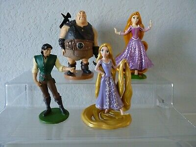 Lot of (4) Disney TANGLED Figure Character Toys
