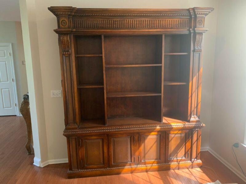 Theodore Alexander Solid Mahogany Bookcase