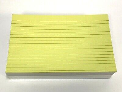 Index Cards 5 X 8 Lined Assorted Colors 200 Index Cards