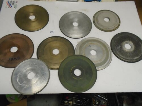 Lot of diamond grinding wheels