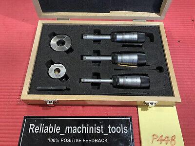 Fowler Bowers Xt Vernier Micrometer Intrimik 38-34 In W Starrett Rings P448