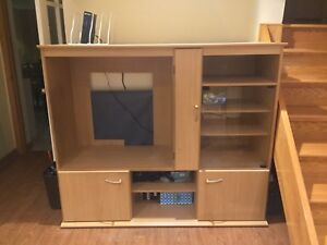 used TV stand / Entertainment Unit