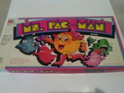 1982 Bally midway Ms. Pac Man Board Game Milton Bradley Complete