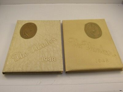 2 Haverhill Massachusetts The Thinker High School Yearbooks   1945 1948