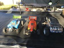 2x Petrol and 1x Electric Remote Controlled Cars Margate Redcliffe Area Preview