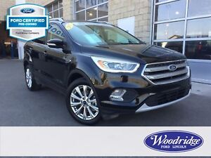 2017 Ford Escape Titanium FORD CERTIFIED PRE-OWNED