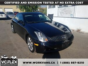 2005 Infiniti G35 LOW KM AUTO G35 COUPE