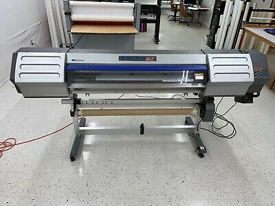 Roland Sc-540 Ex 54 Wide Format Printer Eco Sol Max 2 Ink One Owner