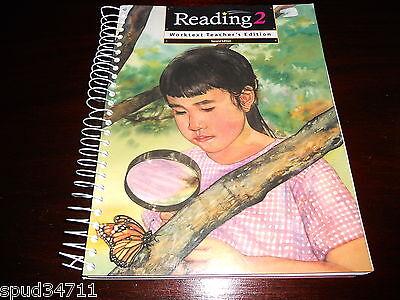 Reading 2 Worktext Teacher's Edition HOMESCHOOL 2nd grade curriculum FREEE SHIP