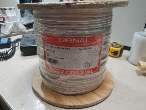 Southwire Signal Coaxial Cable 1000ft RG59 20soICu 95 CMP we cmp/cl2p 999690601