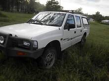 1994 Holden Rodeo Ute Dcab 4x4 needs clutch&exhuast. clean car Greenbank Logan Area Preview