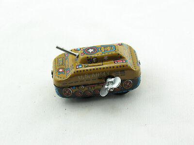 Blechspielzeug - Panzer U.S. Army, klein mit Schlüsselantrieb  3090262