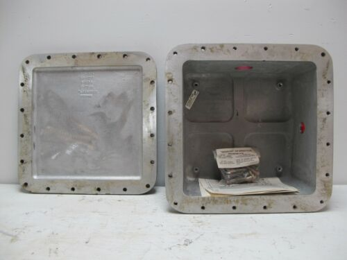 New Hubbell Killark XB-12126 Explosion Proof Electrical Enclosure 800 cu in 1212