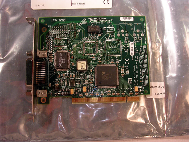 NATIONAL INSTRUMENTS  PCI-GPIB INTERFACE CARD