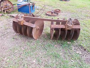 Antique metal plough disks Joyner Pine Rivers Area Preview