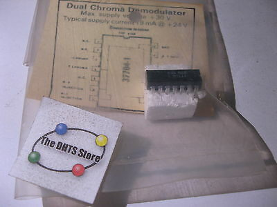 Chroma-demodulator (Sylvania 37704-1 IC Chroma Demodulator Equivilant NTE790 ECG790 NOS Qty 1)