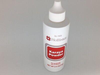 Hollister Karaya Powder Puff Bottles 2.5oz Ostomy Peristomal Care 7905 FREE -