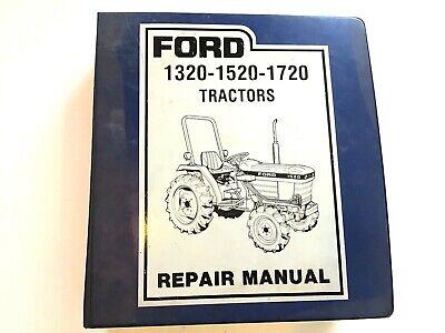 Ford Series 15 20 Tractor Service Parts Catalog Repair Manual 1320-1520-1720
