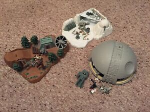 Star Wars Micro Machines Playsets from the 90s