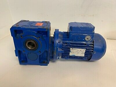 Rossi Electric Motor Wgear Reducer Hb 90lc 4 B5 Mr Ici 81 Uo3a 230460v