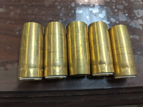 5 EACH MILLER 199611 MIG NOZZLES FASTIP