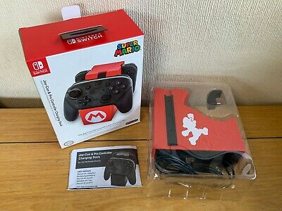 Super Mario Joy-Con & Pro Controller Charging Dock For Nintendo Switch