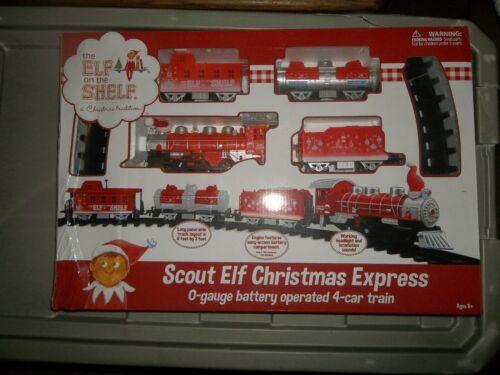 BN Elf on the Shelf Christmas Tree Train - Scout Elf Christmas Express O-gauge