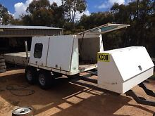 Ute tray Trademate toolbox landcruiser hilux patrol Herne Hill Swan Area Preview